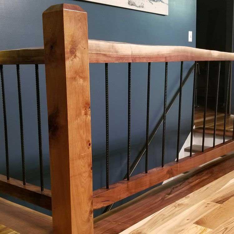 Steel Rebar Staircase
